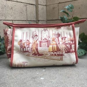 Handbags - Toile Makeup bag